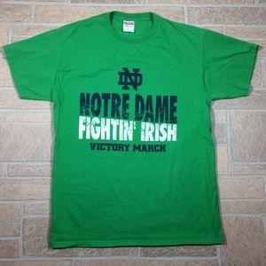 Notre Dame Fighting Irish NCAA Green Cotton Shirt
